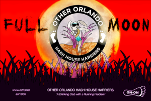 Other Orlando Hash House Harriers - Full Moon