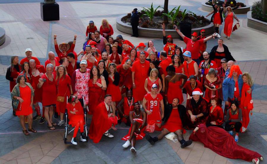 O2H3 Red Dress 2016