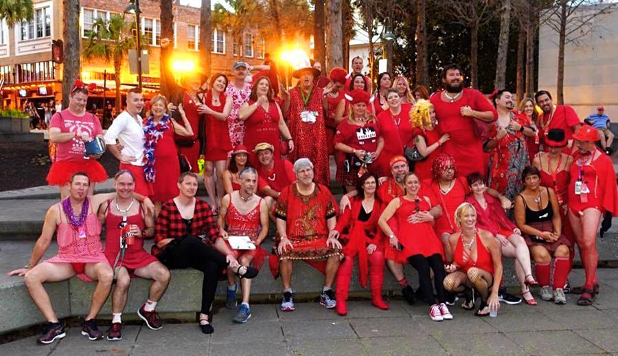 O2H3 Red Dress 2017
