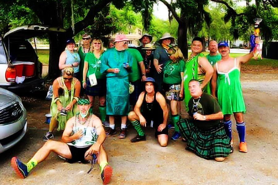 o2h3 Green Dress Hash 2019